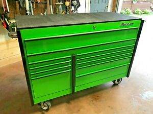 Snap On Toolbox Tool Storage Large Extreme Green Toolbox Arctic Cat Color