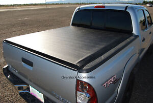 Roll Up Vinyl Truck Bed Tonneau Cover For Nissan Frontier 5ft Short Bed 05 2020