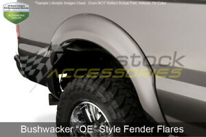 Oe Style Rear Fender Flares Matte Blk For 07 13 Silverado 1500 07 14 2500 3500