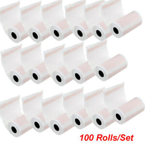 100 Rolls Thermal Printer Paper For Ekg Machine Electrocardiograph 80mmx20m Usa