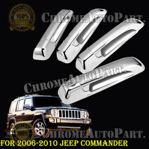 For Jeep Commander 2006 2007 2008 2009 2010 Chrome Door Handle Covers