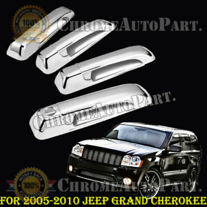 For 2005 2006 2007 2008 2009 2010 Jeep Grand Cherokee Door Handle Chrome Covers