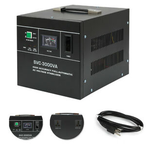 New Automatic Voltage Regulator 3000va 13 6a Automatic Voltage Stabilizer Us