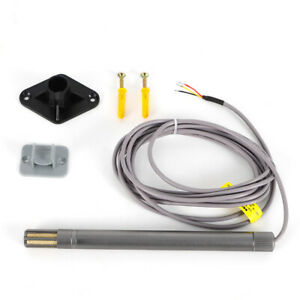 Voltage Type Temperature And Humidity Transmitter Sensor 40 To 80 c Adjust Us