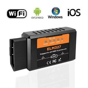 Beizkna Car Wifi Obd2 Diagnostic Scanner Code Reader For Ios Iphone Android I