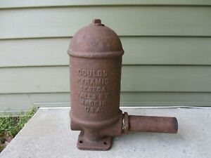 Antique Goulds Pyramid Cast Iron Pump Hydrant Seneca Falls Ny