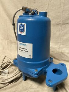 Goulds Water Technology Ws0712bhf Sewage Ejector Pump 3 4 Hp Flow Rate 10 Ft