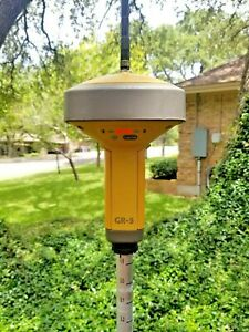 Topcon Gr 5 Gps Gnss Glonass 900mhz Fh915 Rtk Base Rover Or Receiver