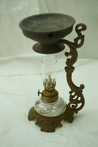 Vapo Cresolene 1885 1888 Medical Oil Kerosene Lamp Vaporizer Antique Original