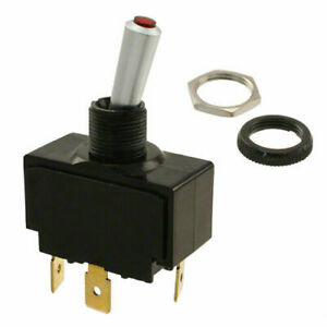Carling Tech Lt 1511 610 012 Toggle Switch Spst 20a 12v Lighted Waterproof