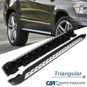 For 10 15 Mercedes Benz Glk350 X204 Black Running Boards Side Step Nerf Bars 2pc