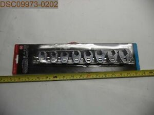 Power Torque 3 8 Drive 8 Pc Crows Foot Wrench Set Gm4773 039564106781