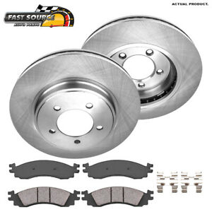 For 2010 2007 2008 2009 2010 Ford Explorer Front Rotors And Ceramic Pads