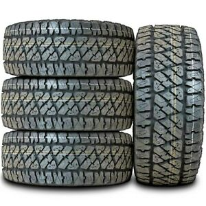 4 New Thunderer Ranger A tr Lt 285 70r17 Load E 10 Ply A t All Terrain Tires
