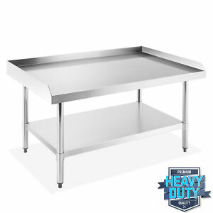Stainless Steel Nsf Restaurant Equipment Stand Grill Table W Undershelf