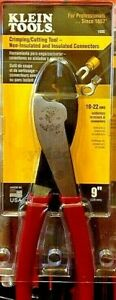 Klein Tools 1005 Crimping cutting Tool Non insulated Free Shipping