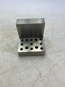 Suburban Tool Machinist Right Angle Hole Block Grinding 2 75 X 2 75 X 4