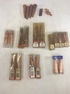 Lot Of 24 Assorted Torch Tips Attc goss purox harris smith New Used