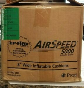 Air Speed 5000 Cushions 472105 Inflatable 2000 Ft 8 7 8 X 8 Packaging