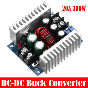 300w 20a Dc dc Converter Step Down Buck power Led Adjustable Charger Board Tool