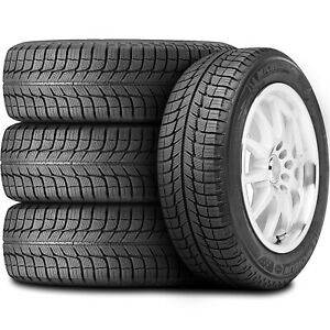 4 New Michelin X Ice Xi3 235 55r17 99h Studless Performance Winter Tires