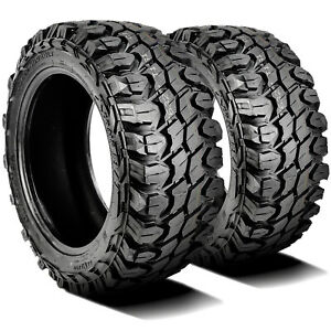 2 New Gladiator X Comp M T Lt 37x13 50r22 Load F 12 Ply Mt Mud Tires