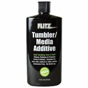 TA04806 FLITZ TUMBLER MEDIA ADDITIVE 16 OUNCE BOTTLE - NEW - FREE SHIP! $34.99