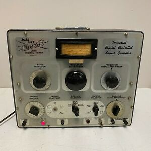 Hickok 288x a Universal Crystal Controlled Signal Generator Works