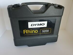 Brand New Dymo Rhino 5200 Thermal Industrial Label Maker Kit Yellow