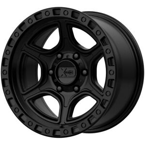 4 xd Series Xd139 Portal 17x9 6x5 5 12mm Satin Black Wheels Rims 17 Inch