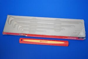 New Factory Sealed Snap on Tools 4 Pc 6 To 20 Rolling Head Prybar Set Pbs704