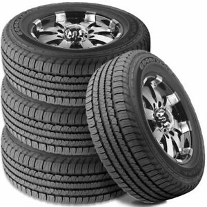 4 Goodyear Fortera Hl P245 65r17 105t All Season Touring Cuv Suv M S Rated Tires