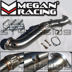 Megan Racing Exhaust Pipe Downpipe For 13 18 Ford Focus St 2 0 Turbo