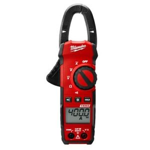 Milwaukee 2235 20 Cat Iii 600v Ac dc 400 Amp Heavy Duty True rms Clamp Meter
