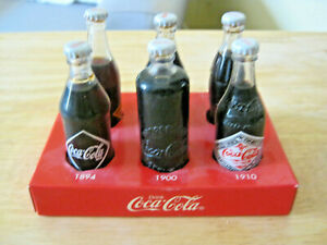 Vintage Mini Coca Cola BottlesThroughout the Years