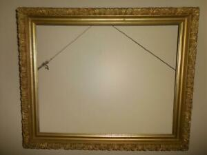 Beautiful Antique Ornate Edge Gold Gilded Wood Fine Art Frame Fits 20 X 16