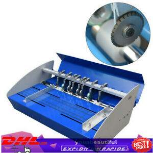 18 Electric Creasing Machine Perforating Paper Folding Card Scorer Perforating