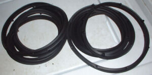 1963 To 1978 Amc Rambler American Classic Ambass Front Dr Seal Weatherstrip Set