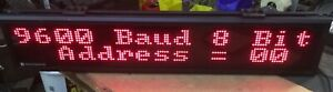 Vorne Industries Led Visual Display Message Board M1000 120 M1000120