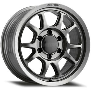 Method Mr313 17x8 5 5x150 25mm Titanium Wheel Rim 17 Inch