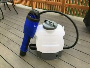 Electrostatic Sprayer With Backpack 16liter rechargeable Lithium ion Battery