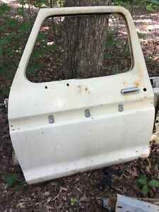 1973 1979 Ford Truck Driver S Side Left Door Shell Body Parts 1978 1977 1974 76