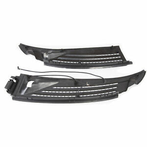 Windshield Wiper Cowl Panel Grille Set Rh Lh For 2009 2014 Ford F150