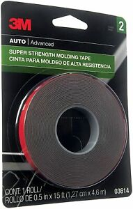 3m Super Strength Molding Tape 03614 1 2 Inch By 15 Feet