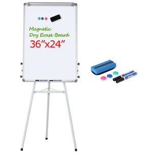 Height Adjustable Tripod Magnetic Whiteboard Portable Dry Erase Board