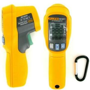 Fluke 62 Max plus Infrared Thermometer 22 To 1 202 Degrees F Range New
