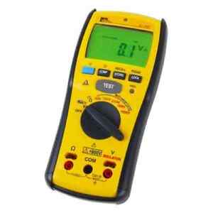 Ideal 61 797 Digital Insulation Meter With 50 100 250 500 1000 Vdc Test Voltages