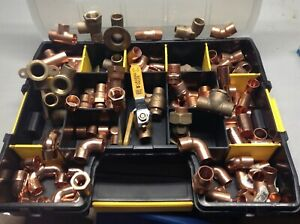 125 1 2 Nibco Mueller Lee Copper Pipe Fittings W Case new made In Usa