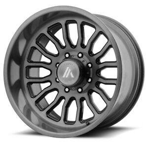 4 asanti Ab815 Workhorse 22x12 6x5 5 40mm Brushed Wheels Rims 22 Inch