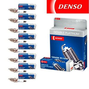 8 Denso Double Platinum Spark Plugs For 1996 2004 Ford Mustang V8 4 6l